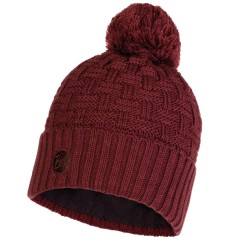 BUFF® Knitted & Polar Hat AIRON maroon