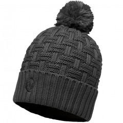 BUFF® Knitted & Polar Hat AIRON melange grey