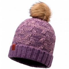 BUFF® Knitted & Polar Hat KIAM deep grape