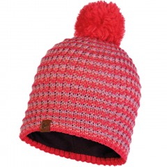 BUFF® Knitted & Polar Hat DANA blossom red