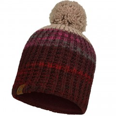 BUFF® Knitted & Polar Hat ALINA maroon