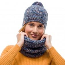 BUFF® Knitted & Polar Neckwarmer MARGO blue