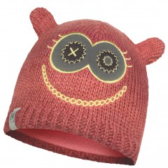 BUFF® Kids Knitted & Polar Hat MONSTER merry pink