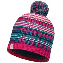 BUFF® Kids Knitted & Polar Hat AMITY pink cerisse