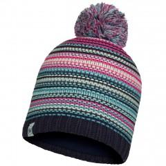 BUFF® Kids Knitted & Polar Hat AMITY night blue