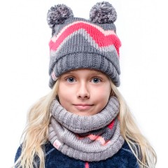 BUFF® Kids Knitted & Polar Hat ARILD grey