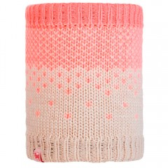 BUFF® Kids Knitted & Polar Neckwarmer HILDA melange cru