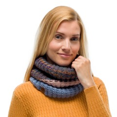 BUFF® Knitted & Polar Neckwarmer ALINA blue