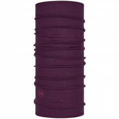BUFF® Lightweight Merino Wool purplish multi stripes