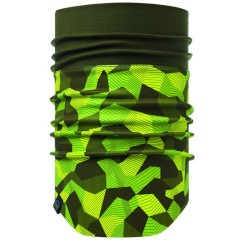 BUFF® Windproof Neckwarmer block camo green