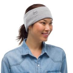 BUFF® Lightweight Merino Wool solid light grey