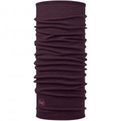 BUFF® Midweight Merino Wool solid deep purple