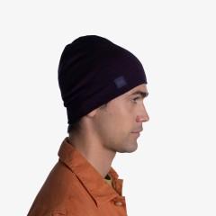 BUFF® Heavyweight Merino Wool Hat solid deep purple