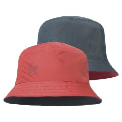 BUFF® Travel Bucket Hat Сollage red / black