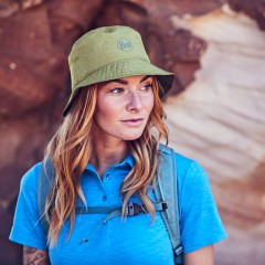 BUFF® Travel Bucket Hat shady khaki [2019 Edition]