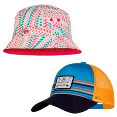 Детские кепки и панамы