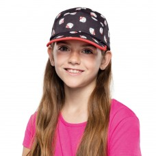 BUFF® Kids 5 Panels Cap Hello Kitty poses black