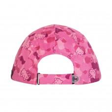 BUFF® Kids 5 Panels Cap Hello Kitty camo pink