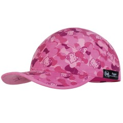 BUFF® Kids 5 Panels Cap Hello Kitty camo pink