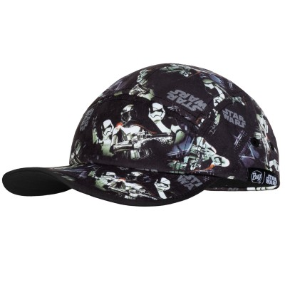 BUFF® Kids 5 Panels Cap Star Wars first order black