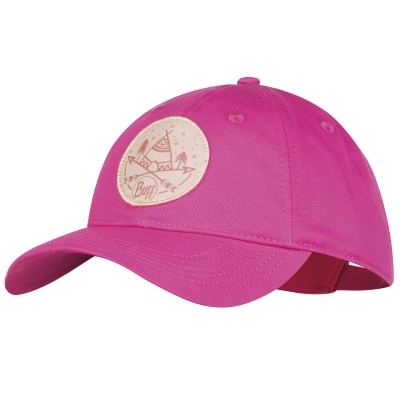 BUFF® Kids Baseball Cap solid fuchsia
