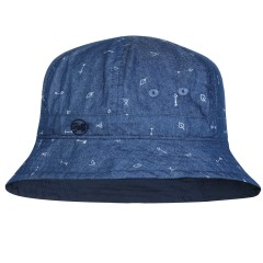 BUFF® Kids Bucket Hat arrows denim