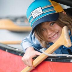 BUFF® Kids Trucker Cap explore multi