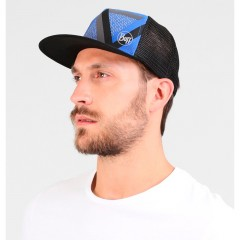 BUFF® Trucker Cap optic block cape blue