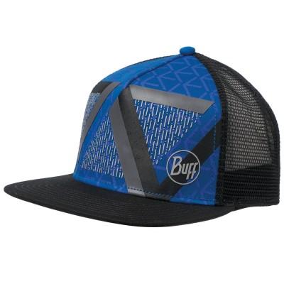 BUFF® Trucker Cap optic block cape blue