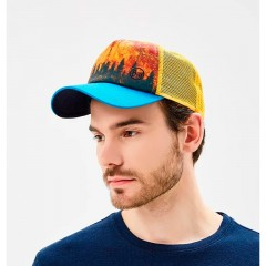 BUFF® Trucker Cap lake reflex dark brown