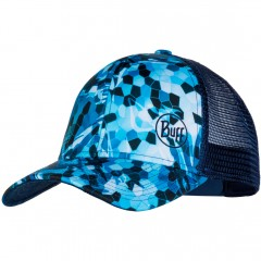 BUFF® Trucker Cap Mosaic Camo Marine Blue by Bug Slinger