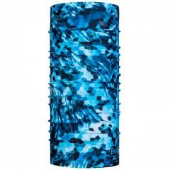 BUFF® CoolNet UV⁺ Mosaic Camo Marine Blue by Bug Slinger
