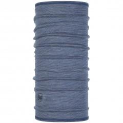 BUFF® ¾ Lightweight Merino Wool light denim multi stripes