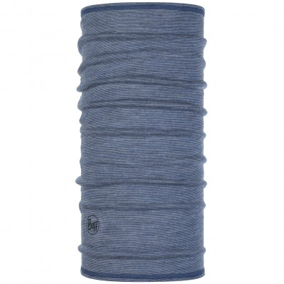 BUFF® ¾ Lightweight Merino Wool light denim multi stripes