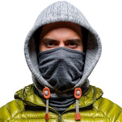 BUFF® Polar Thermal Hoodie melange grey