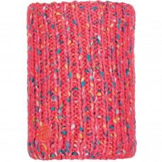 BUFF® Knitted & Polar Neckwarmer YSSIK pink fluor