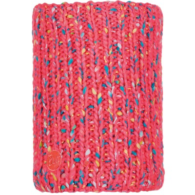 BUFF® Knitted & Polar Neckwarmer YSSIK pink fluor