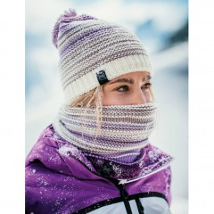 BUFF® Knitted & Polar Neckwarmer NEPER violet