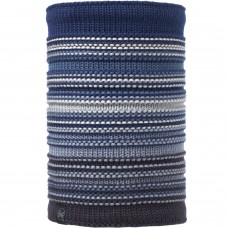 BUFF® Knitted & Polar Neckwarmer NEPER blue ink