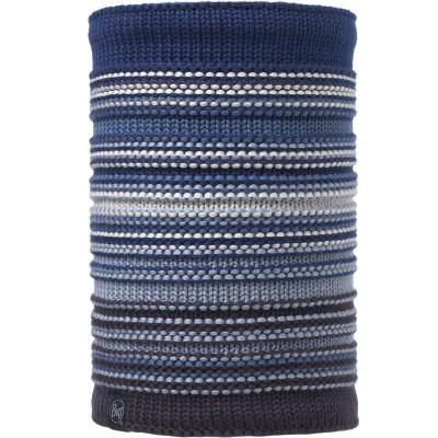 BUFF® Knitted & Polar Neckwarmer NEPER blue ink