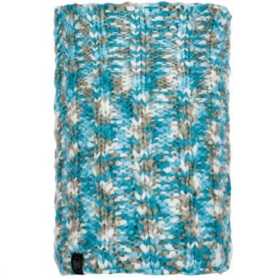 BUFF® Knitted & Polar Neckwarmer LIVY aqua