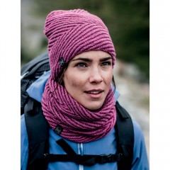BUFF® Knitted & Polar Neckwarmer SILJA purple