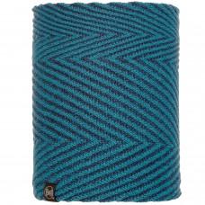 BUFF® Knitted & Polar Neckwarmer SILJA deep teal