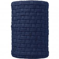 BUFF® Knitted & Polar Neckwarmer AIRON dark denim