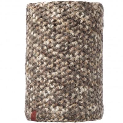 BUFF® Knitted & Polar Neckwarmer MARGO brown taupe