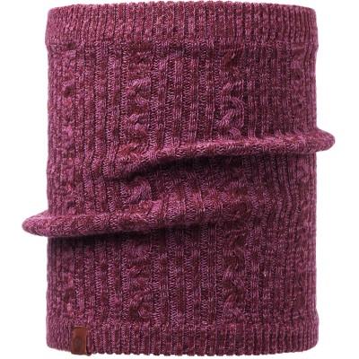 BUFF® Knitted & Polar Neckwarmer COMFORT BRAIDY amaranth purple