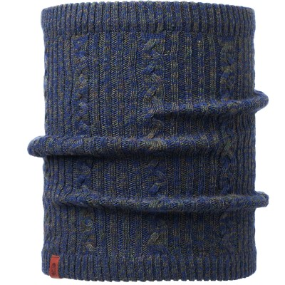 BUFF® Knitted & Polar Neckwarmer COMFORT BRAIDY moss