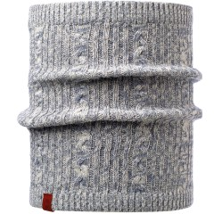 BUFF® Knitted & Polar Neckwarmer COMFORT BRAIDY grey