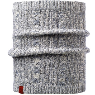 BUFF® Knitted & Polar Neckwarmer COMFORT BRAIDY grey