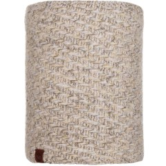 BUFF® Knitted & Polar Neckwarmer AGNA sand